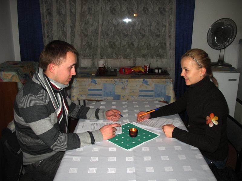dialog małżeński na osobności